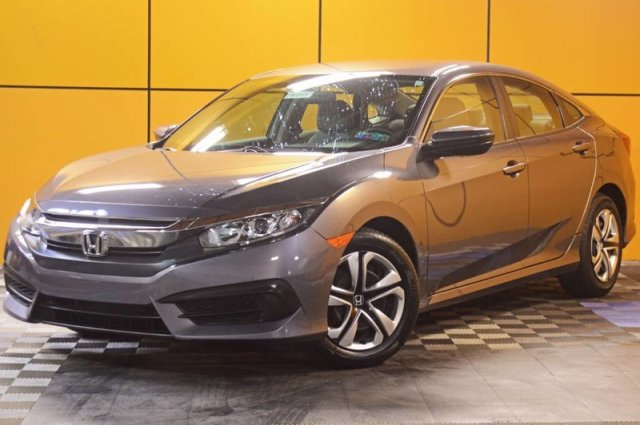 Certified Pre-Owned 2017 Honda Civic Sedan LX