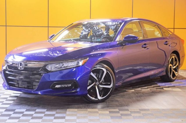 Certified Pre-Owned 2019 Honda Accord Sedan Sport 2.0T
