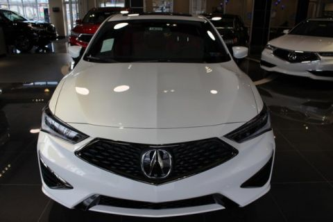New 2019 Acura ILX w/Technology/A-SPEC Pkg
