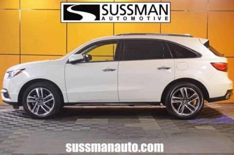 Certified Pre-Owned 2017 Acura MDX w/Advance/Entertainment Pkg